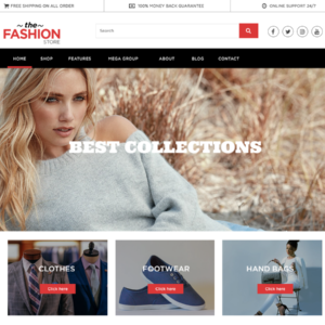 Multipurpose Ecommerce Free wordpress Theme