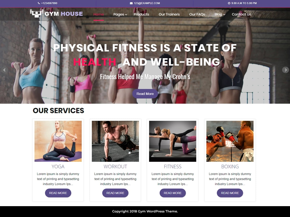 Fitness Gymhouse